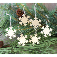 Mini Felt Snowflakes Ornaments