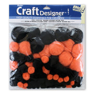 Halloween Assortment Pom Poms