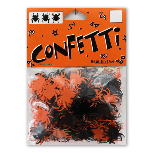 Halloween Decor Spider Confetti