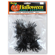 Halloween Plastic Spiders Party Favors Crafts