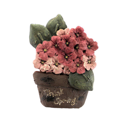 Country Primitive Flower Basket Spring Wear