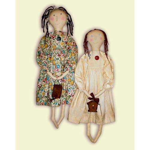 Country Rag Doll Instant Download PDF E-Pattern
