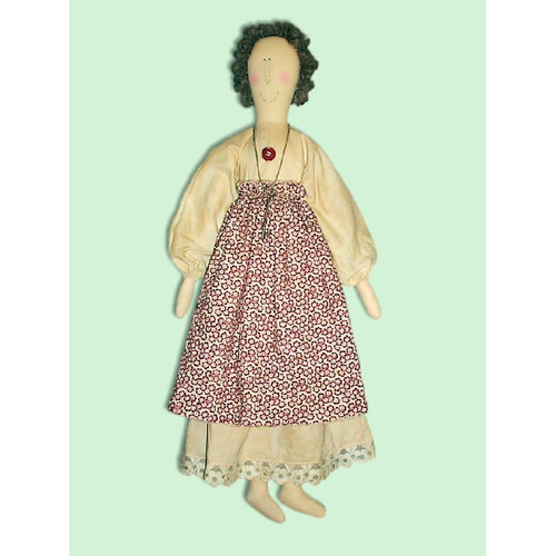 Country Primitive Doll E-Pattern