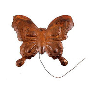 Rusty Tin Butterfly Pick