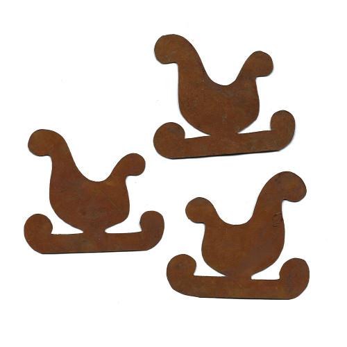 Rusty Tin Sleigh Cutouts