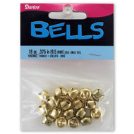9mm Gold Jingle Bells
