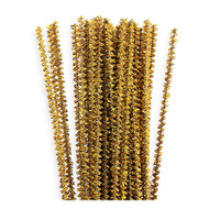 3mm Metallic Gold Tinsel Stems