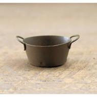 Miniature Rusty Tin Oval Pan