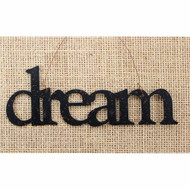 Dream Tin Word Ornament