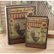 Country Living Book Boxes