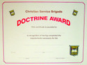 Doctrine Certificate  263125
