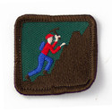 Rock Climbing Patch    265578
