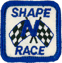 Shape N Race Emblem, each   521377C