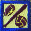 Team Sports: Patches (Package  of !0)