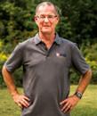 Charcoal Grey Golf Shirt  Men's Size  Large