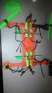 3D Printed Quadcopter Body