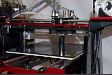 Rova FDM 3D Printer At An Angle