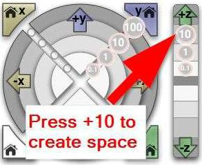 How To Press the +10 Button