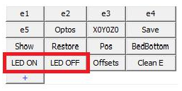 Turn LED lights on/off