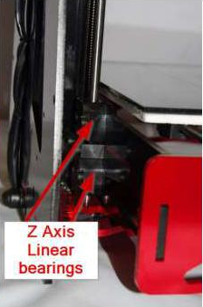 Z Axis Linear Bearings