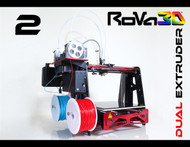 RoVa3D Dual Extruder 3D Printer (Sold Out)