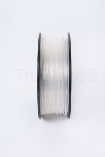 Transparent TruBlend 1.75mm PLA 3D printer filament by ORD Solutions Inc - Vertical