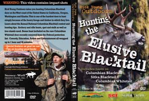 Hunting The Elusive Blacktail Deer DVD Sleeve