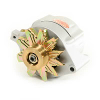 Powermaster Alternator 140 Amp, Natural. Fits 86-93 Mustang 5.0L, 8-47140