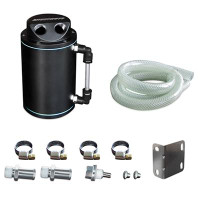 Mishimoto Black Oil Catch Can Kit