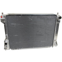 AFCO Direct Fit High Performance Aluminum Radiator, Satin Finish, 10-14