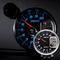 "Auto Meter 5"" Tachometer, Cobalt, Shift-Lite, 10,000 rpm, 6299"