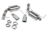 Roush Axle-Back Exhaust W/Round Tips, 2011 - 2014 Mustang GT, 421127