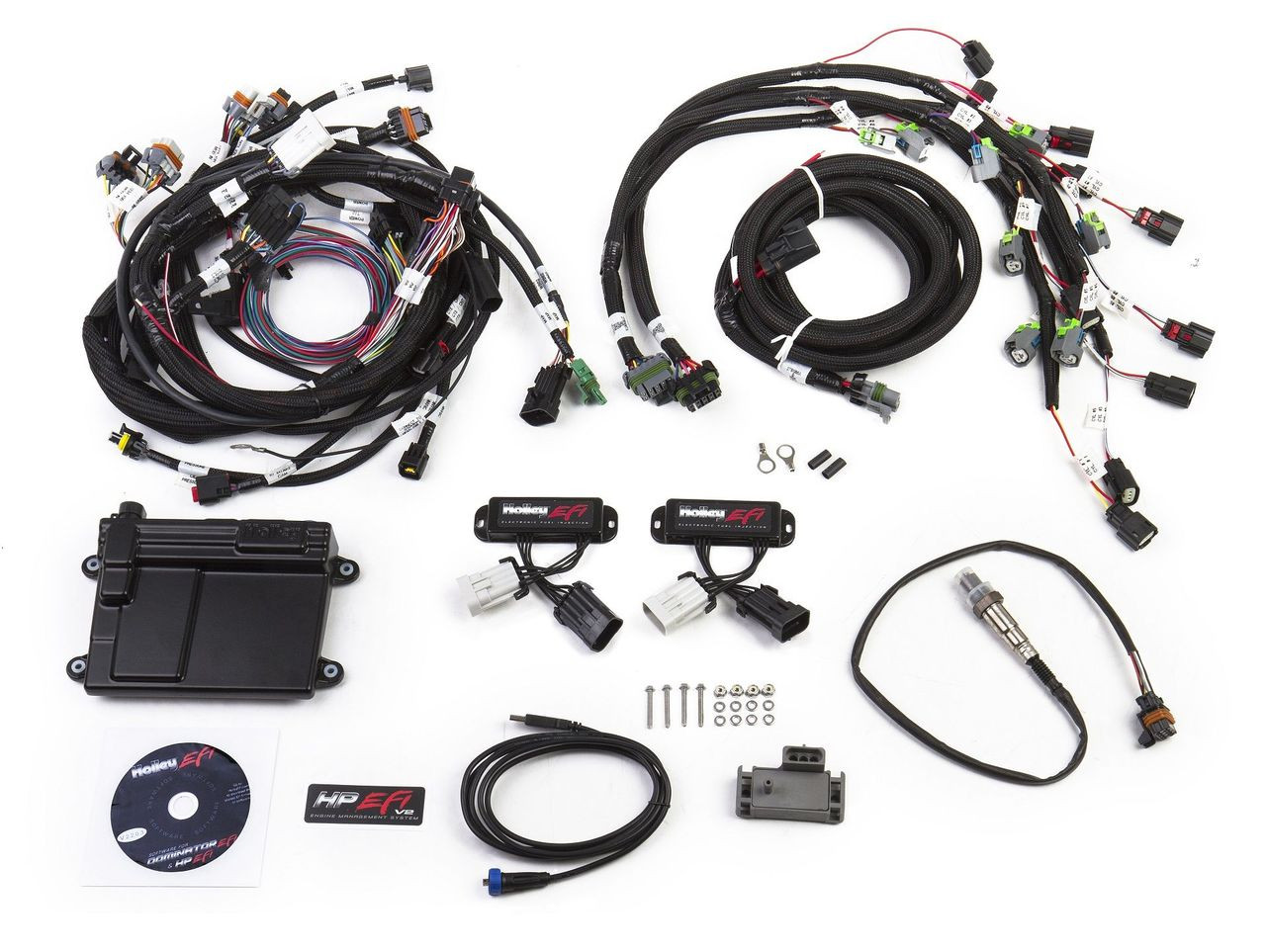 Holley Efi 550 618 Complete Plug And Play 50 Coyote Engine Harness 302 Wiring Management Locked Vvt