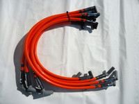 Anderson Super 40 Spark Plug Wires, Competition Orange.  Fits 86-93 5.0L Mustang.
