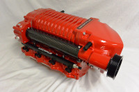 WK-2610R-STG1 WHIPPLE W175FF 2.9L, RED Stage 1 Supercharger Kit, 2011 - 2014 Mustang GT