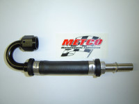 Metco MFRS2000 Fuel Rail Adapter For 2007 and Newer Shelby GT500 and 5.0 4V with Metco Motorsports Fuel Rails