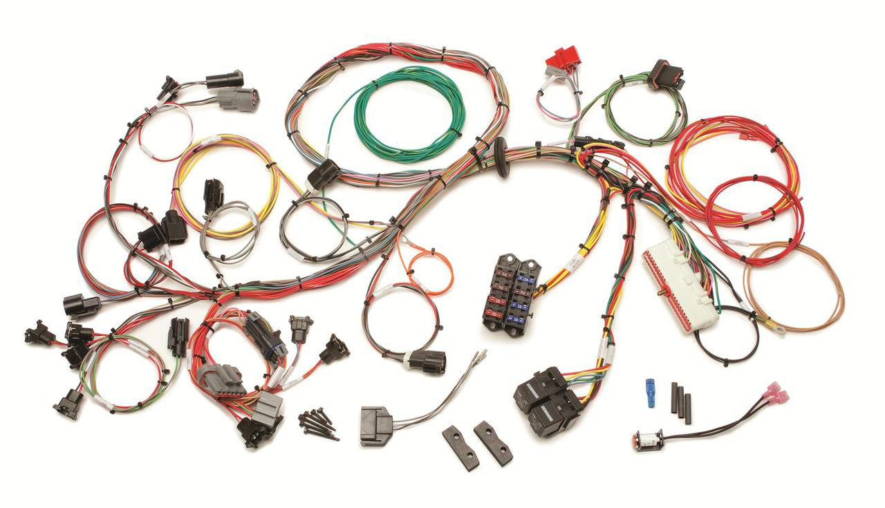 60510 Painless Performance 1989 - 1993 5.0L Fuel Injection Wiring Harness,  STD Length