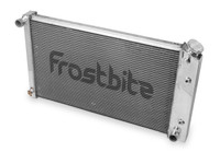 FB170 Frostbite 4-Core Direct-Fit Aluminum Radiator For 1979 - 1993 Mustang