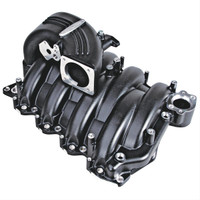 51811000 Trick Flow 4.6L 2V EFI StreetBurner Intake Manifold Kit, Black Finish