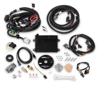 550-606 Holley EFI HP Universal FORD V8 Multi-Point Fuel Injection, Includes Bosch Oxygen Sensor, and Ford V8 Injector