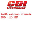 OMC Johnson Evinrude 100 - 110 outboard electronics application guide
