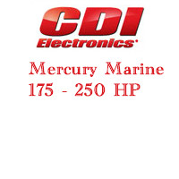 Mercury 175 - 250 HP outboard ignition products application