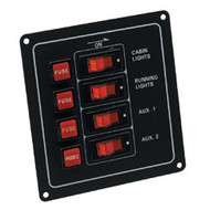 4 Way Fuse/Switch Panel