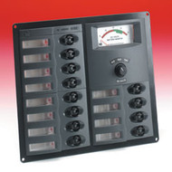 Bep 12 Way Control Panel With Meter - 12V
