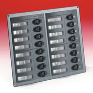 Bep 16 Way Control Panel Without Meter - 12V