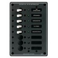 Blue Sea Panel 230Vac 8 Circuit Breaker