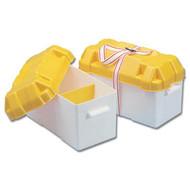 Trem Large Battery Box C/W Strap 200X410X250H Mm
