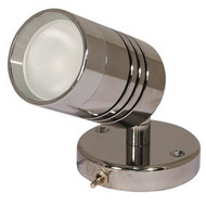 Aqualight Carna Wall Light C/W Switch S/S 12V 10W G4
