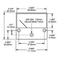 Blue Sea Ammeter Analog 0-25A Dc