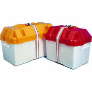 Battery Box Large Yellow 410x200x250(H) mm